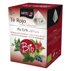 Piramide Tè Rosso con Frutti Silvestri
